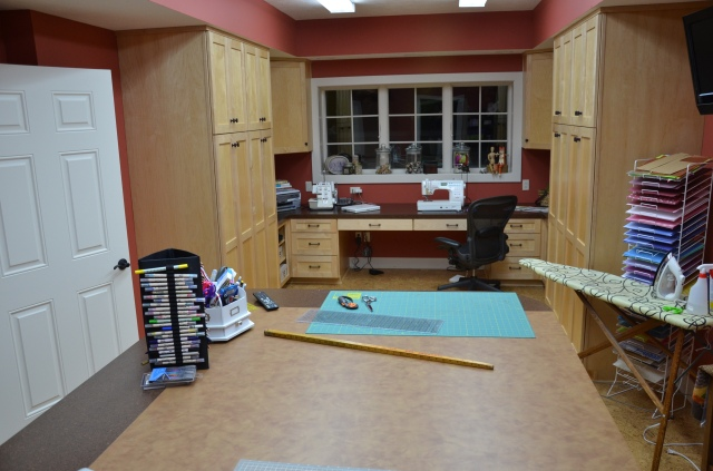sewing space layout