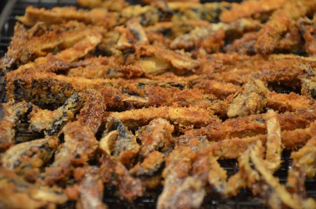 gluten free mushroom fries