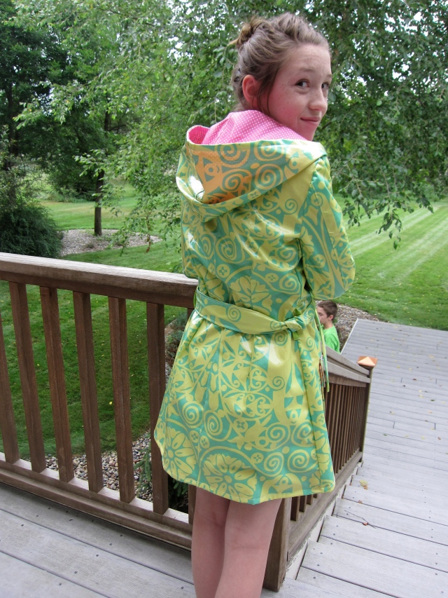 Amy Butler raincoat pattern xs by Sewfrench