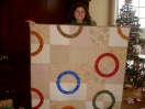 Circle of Life quilt by Sewfrench