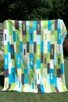 Kona solids quilt by Sewfrench