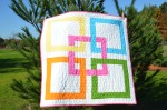 Kona cotton solids original quilt by Sewfrench