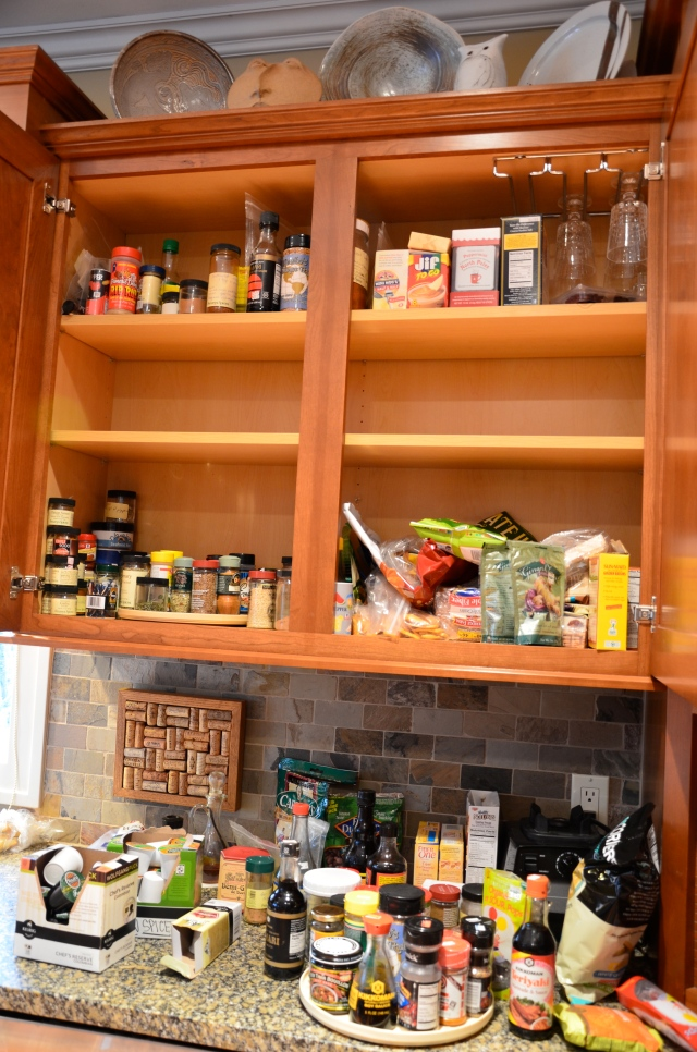 Spice Cabinet makeover by Sewfrench