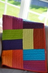 Kona solids quilt
