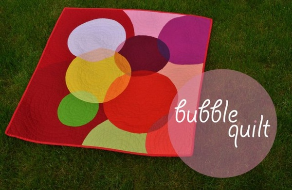 Bubble Quilt by Sewfrench