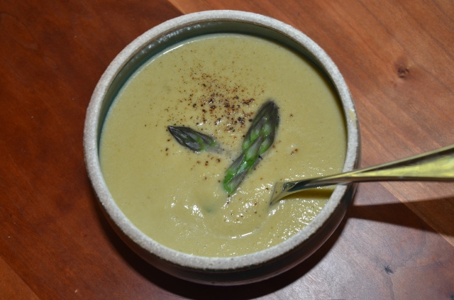 Dairy Free Gluten Free Asparagus Soup Recipe