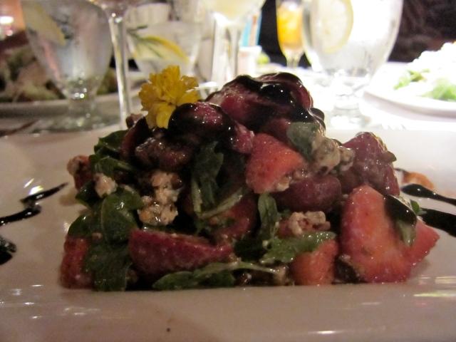 Anna Maria Island beach Bistro salad