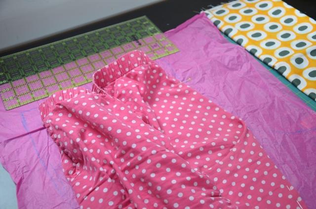 Making a sewing pattern