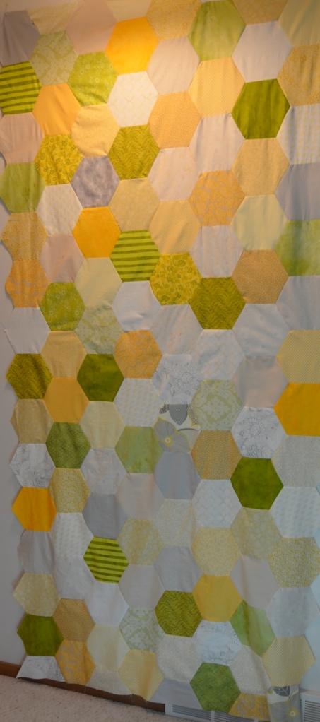 Jumbo Hexagon quilt