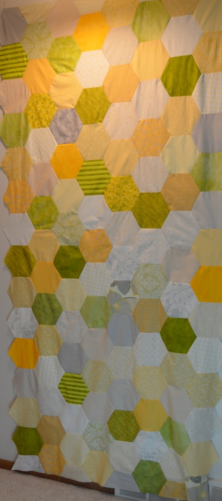 Jumbo Hexagon quilt