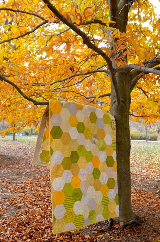 Honeycomb quilt