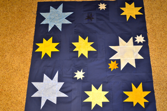 Starry, Starry Night quilt
