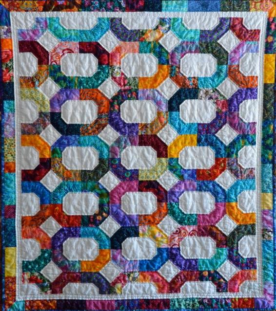 Cross Terrain quilt