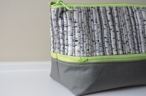 Double zippered Sewfrench bag