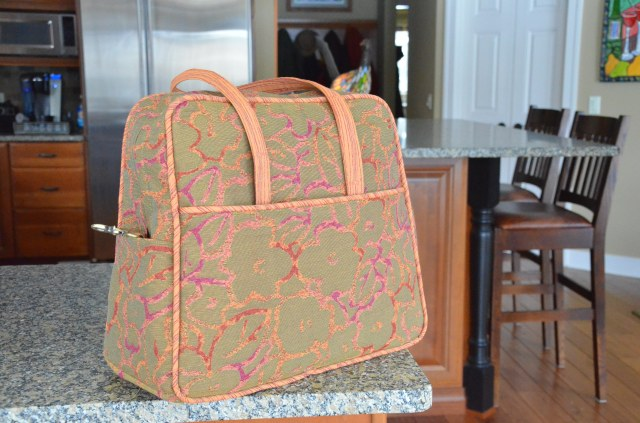 Amy Butler weekender bag with changes