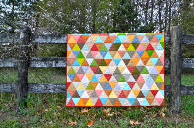 Equilateral triangle quilt