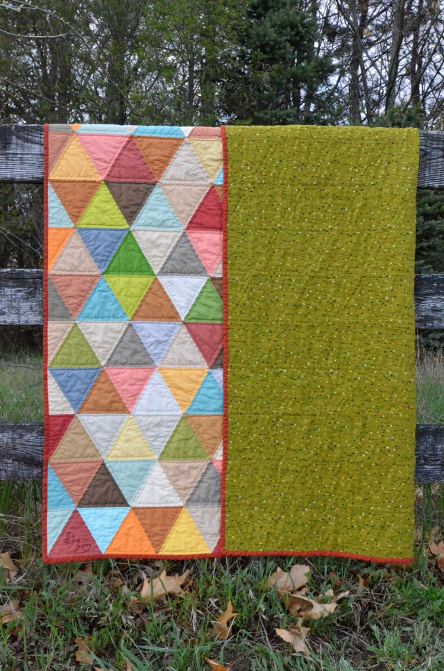 Quilt backing @ Sewfrench
