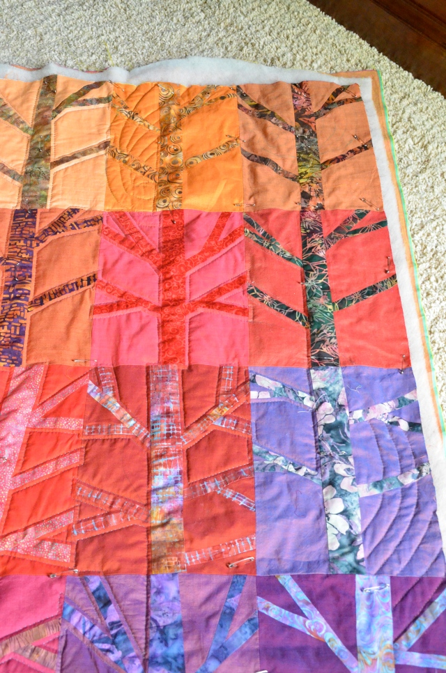 "Grow""ing"" Benzie quilt"