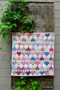 charm quilt by Sewfrench