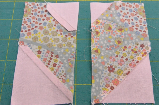 Charm quilt tutorial by Sewfrench
