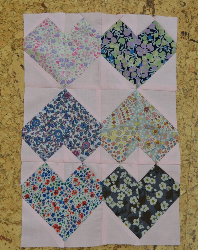Head Over Heels in Love quilt tutorial