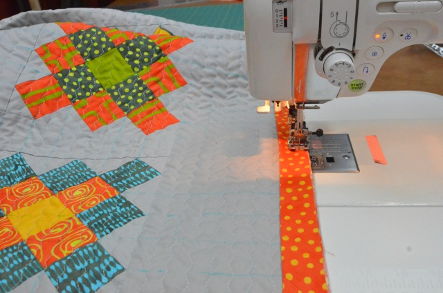 Granny Square quilt by Sewfrench