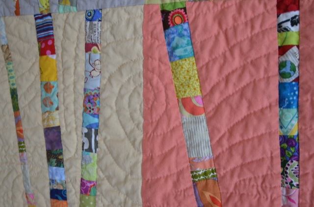 Quilted wind pattern