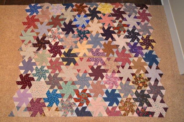 Kansas Twister quilt