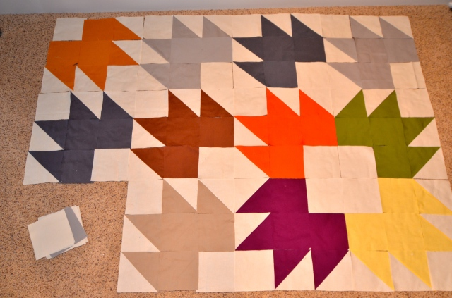 Maple Leaf quilt