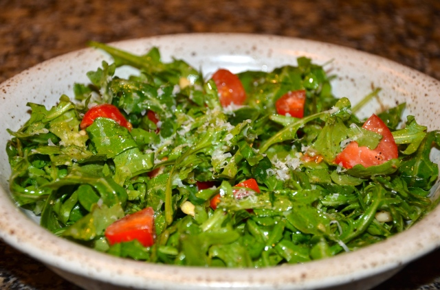 Arugula Salad @ Sewfrench