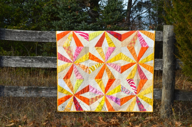 Endless Chain quilt by Sewfrench
