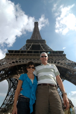 Sewfrench at the Eiffel Tower