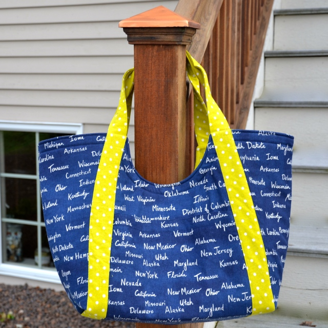 Noodle head Poolside Tote Sewfrench
