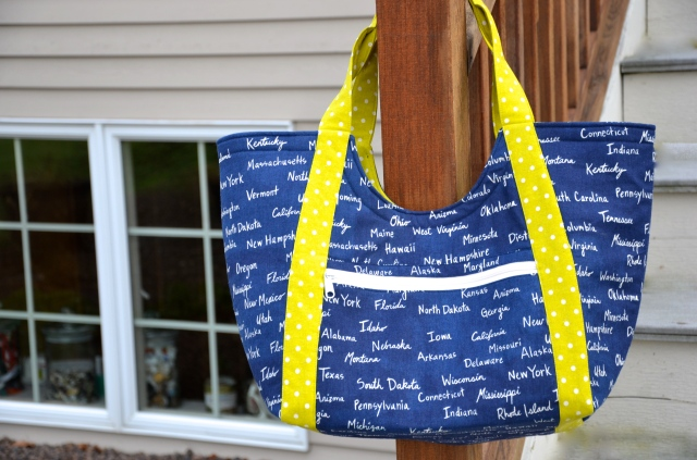 Tote bag by Sewfrench