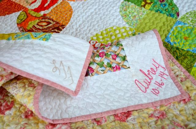 Flower Garden quilt by Sewfrench