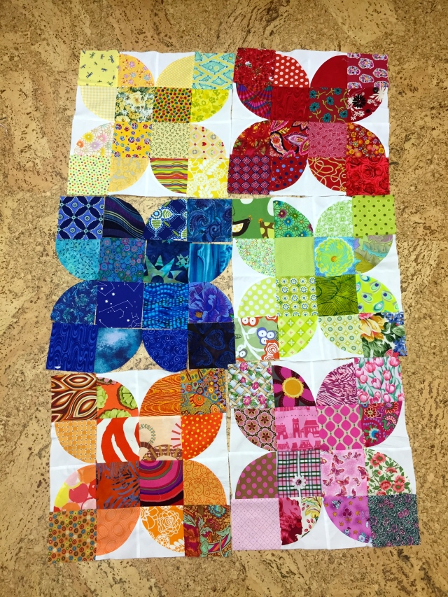 Drunkards Path quilt
