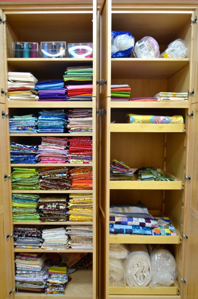 Fabric Organizing at Sewfrench