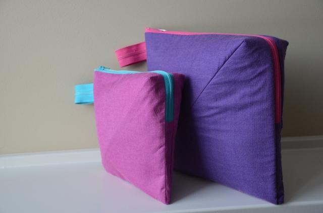 Zippered bag @ Sewfrench