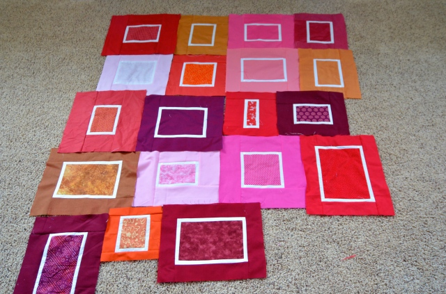 Irregular Blocks quilt