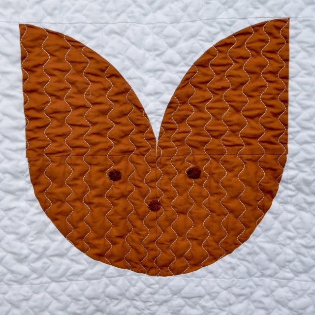 Drunkards Path Animal quilt @ Sewfrench