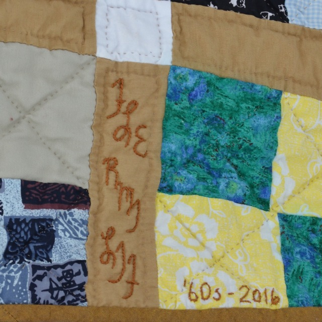 Sign your quilts Sewfrench