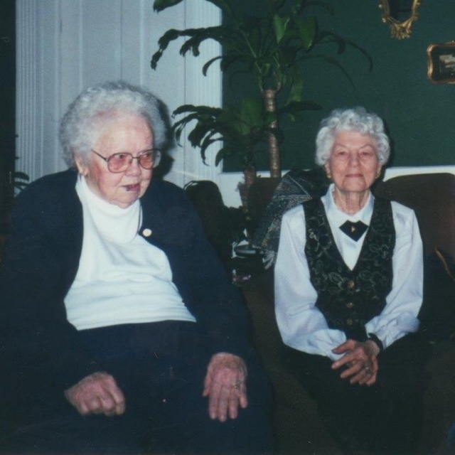 My grandmothers Floye Bryant Ellis and Mildred Wooley Taylor