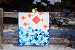 Little Fishies quilt @Sewfrench