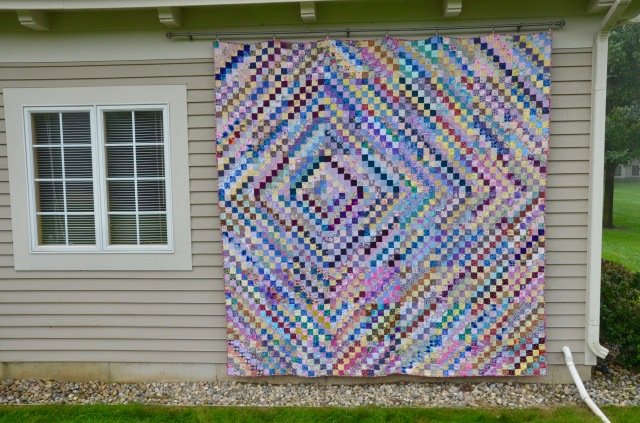 Life's a Trip quilt by Sewfrench